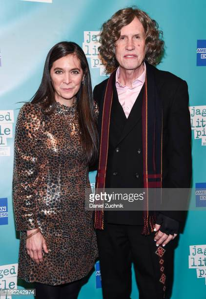 Diane Paulus and Glen Ballard attend the after party of the opening night of the broadway show Jagged Little Pill at Broadhurst Theatre on December...