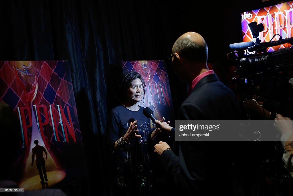 Diane Paulus attends the after party for the Broadway opening night of 'Pippin' at Slate on April 25, 2013 in New York City.