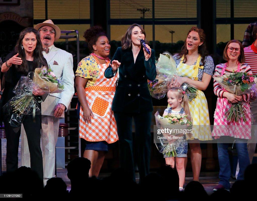 'Waitress: The Musical' - Press Night - Curtain Call : News Photo