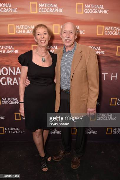 Diane Pol and Dr Jan Pol of The Incredible Dr Pol attend National Geographic's FURTHER Front immersive experience where the network took over a SoHo...