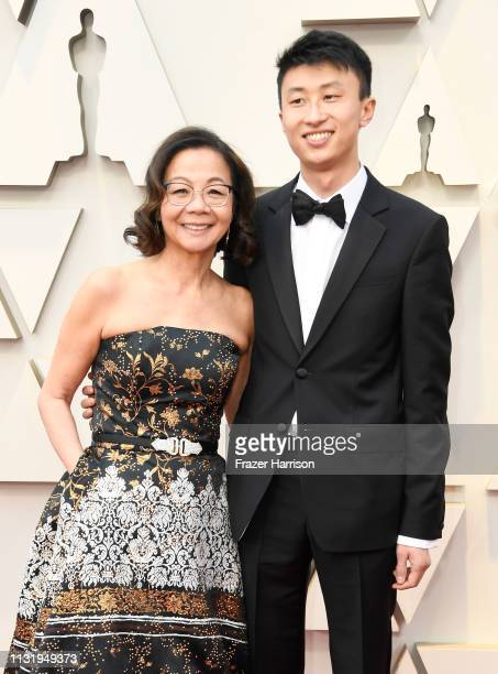 Diane Quon and Bing Liu attend the 91st Annual Academy Awards at Hollywood and Highland on February 24 2019 in Hollywood California