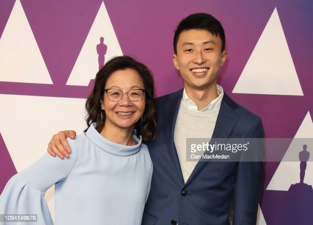 Diane Quon and Bing Liu attend the 91st Oscars Nominees Luncheon at The Beverly Hilton Hotel on February 4 2019 in Beverly Hills California