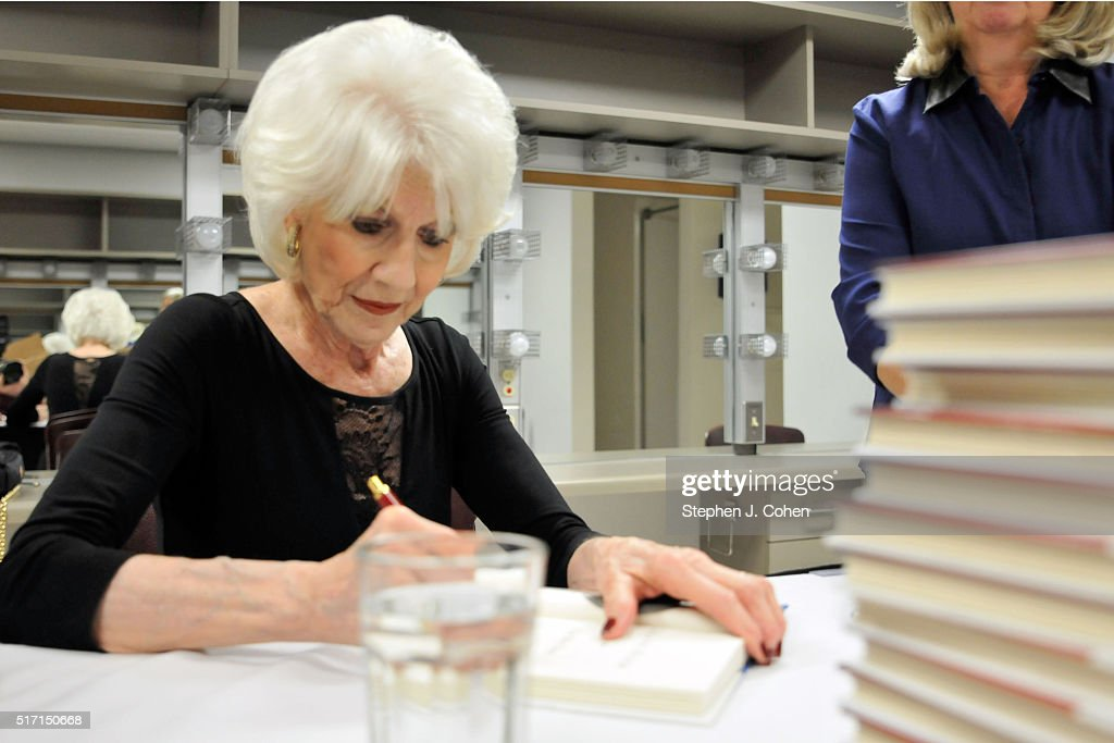Diane Rehm Signs Copies Of Her Book 'On My Own' at The Kentucky Center for the Performing Arts on March 23, 2016 in Louisville, Kentucky.