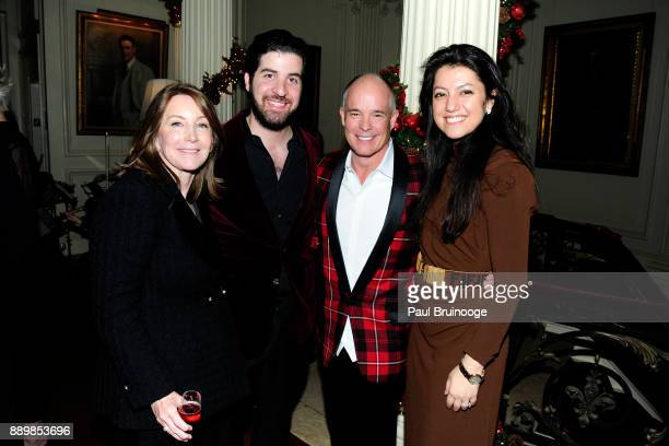Diane Reynolds Dr Omar Baker Jon Fitzgerald and Behnaz Baker attend the Hackensack University Medical Center Foundation Holiday Party Hosted by Jon...