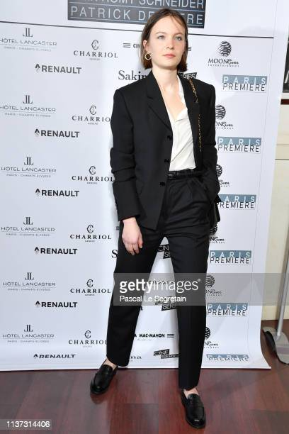 Diane Rouxel attends the 37th Romy Schneider And Patrick Dewaere Awards Nominee Luncheon At Cinema Le Mac Mahon on March 21 2019 in Paris France