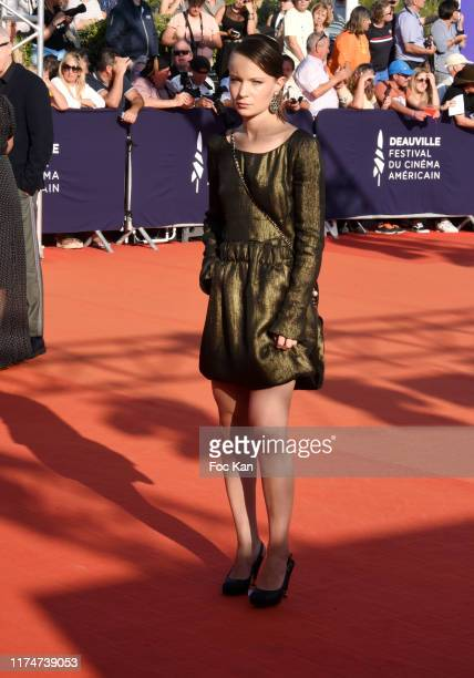 Diane Rouxel attends the Award Ceremony during the 45th Deauville American Film Festival on September 14 2019 in Deauville France