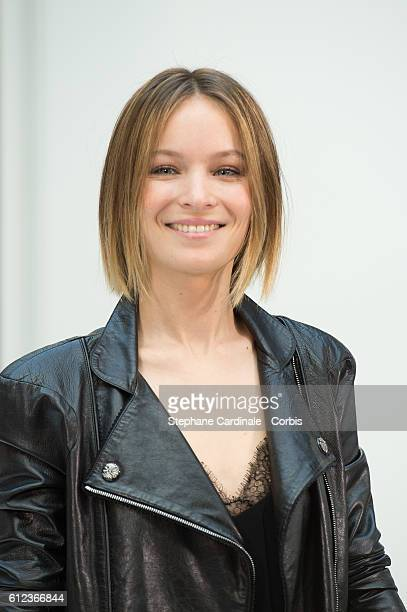 Diane Rouxel attends the Chanel show as part of the Paris Fashion Week Womenswear Spring/Summer 2017 on October 4 2016 in Paris France