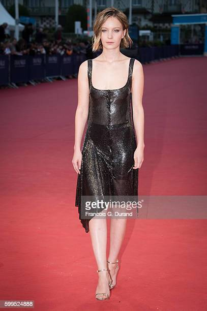 """Diane Rouxel attends the """"In Dubious Battle"""" Premiere during the 42nd Deauville American Film Festival on September 5, 2016 in Deauville, France."""