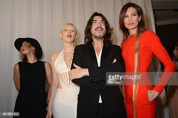 Diane Sagnier Anna Sherbinina Stephane Rolland and Nieves Alvarez attend the Stephane Rolland Show as part of Paris Fashion Week Haute Couture...