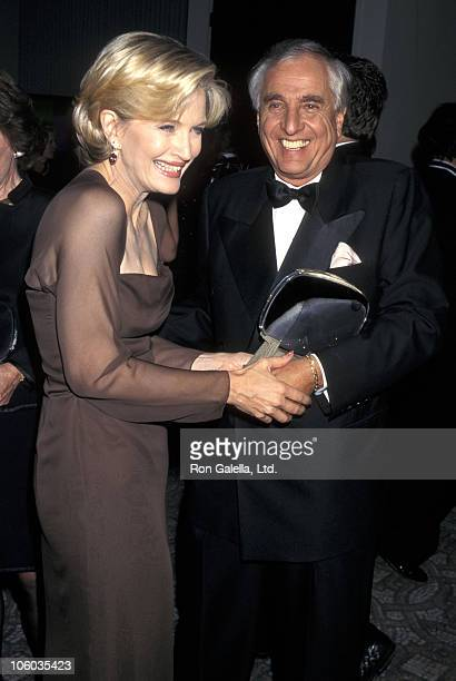 Diane Sawyer and Garry Marshall during 13th Annual Television Academy Hall of Fame Awards at Leonard H Goldenson Theater in North Hollywood...