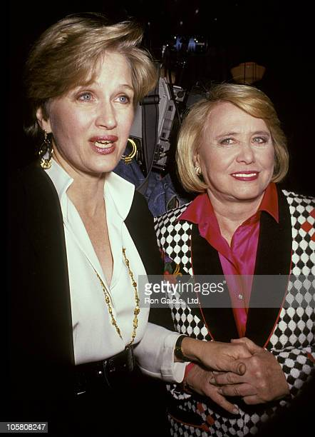Diane Sawyer and Liz Smith during Party Celebrating Liz Smith's Interview In Playboy Magazine at Mortimer's in New York City New York United States