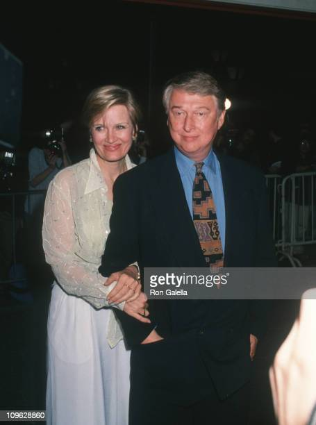 Diane Sawyer and Mike Nichols during Blue Sky New York City Premiere Red Carpet at Alice Tully Hall Lincoln Center in New York City New York United...