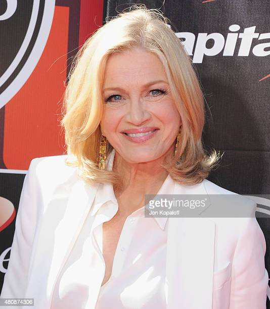 Diane Sawyer arrives at The 2015 ESPYS at Microsoft Theater on July 15 2015 in Los Angeles California