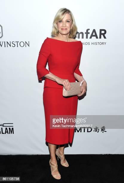 Diane Sawyer at amfAR Los Angeles 2017 at Ron Burkle's Green Acres Estate on October 13 2017 in Beverly Hills Californi