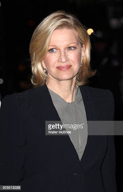 Diane Sawyer attending the Memorial To Honor Marvin Hamlisch at the Peter Jay Sharp Theater in New York City on 9/18/2012
