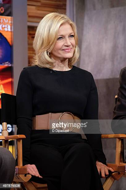 Diane Sawyer attends Good Morning America's 40th Anniversary at GMA Studios on November 19 2015 in New York City