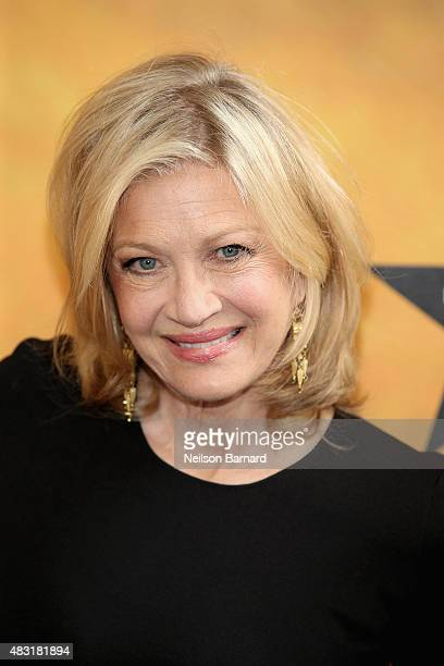 Diane Sawyer attends Hamilton Broadway Opening Night at Richard Rodgers Theatre on August 6 2015 in New York City