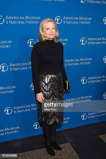 Diane Sawyer attends the 2016 American Museum Of Natural History Museum Gala at American Museum of Natural History on November 17 2016 in New York...