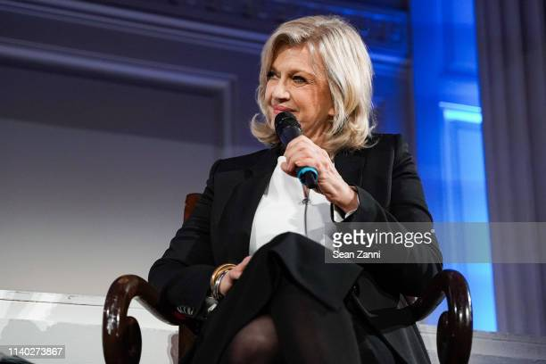 Diane Sawyer attends the BCNY Annual Luncheon at 583 Park Avenue on April 03 2019 in New York City