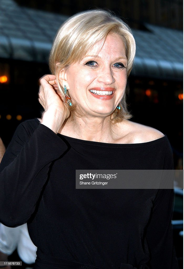 Diane Sawyer during Isaac Mizrahi High / Low Fall 2004 Fashion Show at Cipriani in New York City, New York, United States.