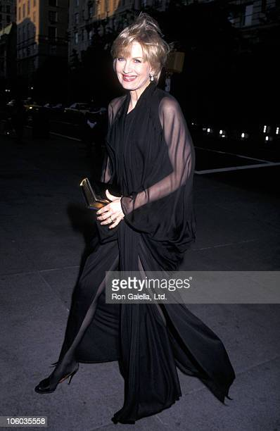 Diane Sawyer during New York Times 100th Anniversary at Metropolitan Museum of Art in New York City New York United States