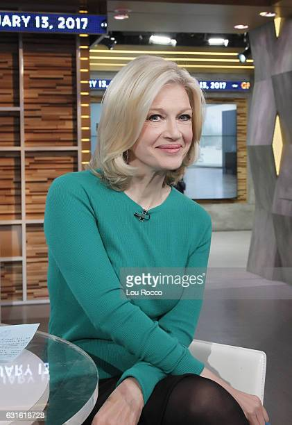 AMERICA Diane Sawyer on Good Morning America 1/13/17 airing on the Walt Disney Television via Getty Images Television Network DIANE