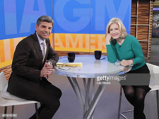 AMERICA Diane Sawyer on Good Morning America 1/13/17 airing on the Walt Disney Television via Getty Images Television Network GEORGE