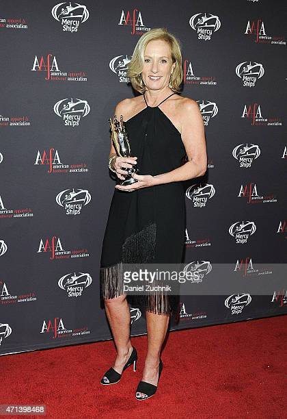 Diane Sullivan attends the AAFA American Image Awards at 583 Park Avenue on April 27 2015 in New York City