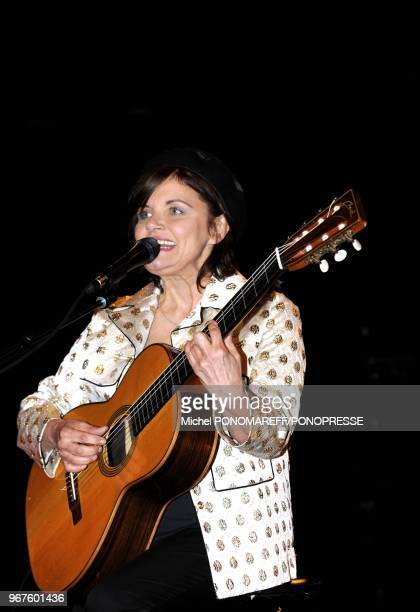 Diane Tell launches 'Une' new album of original songs on May 23 2013 at 'Astral' scene in Montreal Quebec Why 'Une' Because a single woman's voice...