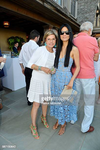 Diane Tuft and Helen Lee Schifter attend Tom Diane Tuft and Christina Cuomo Celebrate the Launch of Jay McInerney's New Novel Bright Precious Days at...