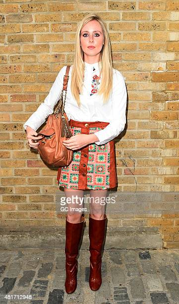 Diane Vickers leaves Amazon Fashion Studio launch party in East London on July 23 2015 in London England