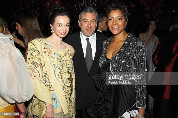 Diane Vishneva Robert DeNiro and Grace Hightower attend AMERICAN BALLET THEATRE 67th Annual Spring Gala at Metropolitan Opera House on May 14 2007 in...