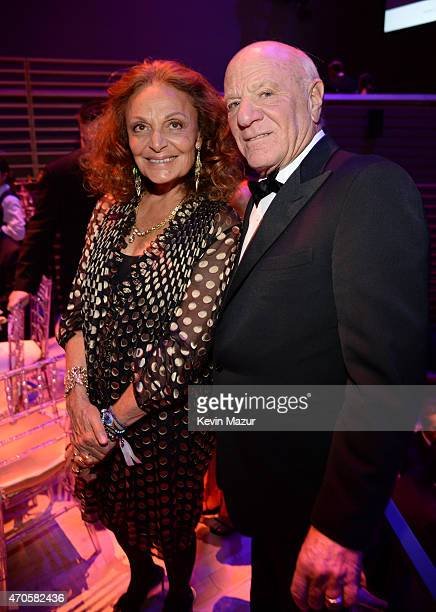 Diane von Furstenberg and Barry Diller attend TIME 100 Gala TIME's 100 Most Influential People In The World at Jazz at Lincoln Center on April 21...