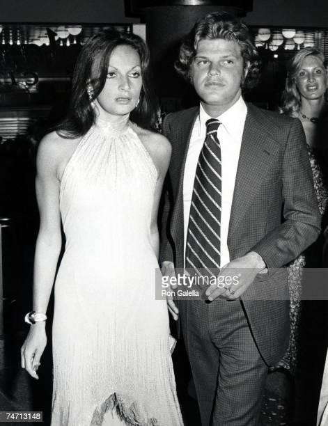 Diane Von Furstenberg and Egon Von Furstenberg in