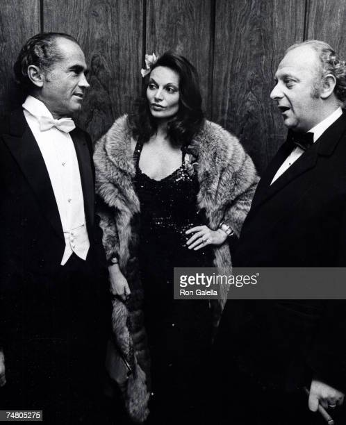 Diane von Furstenberg and guests at the Rainbow Room in New York City New York