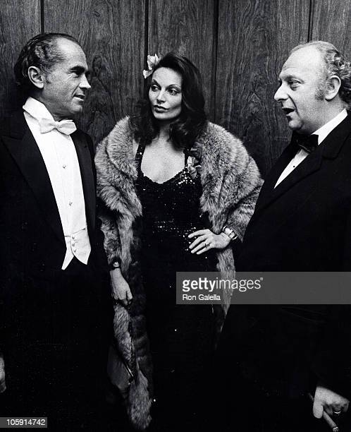 Diane von Furstenberg and guests during 9 o'clock Ball in the Rainbow Room December 5 1972 at Rainbow Room in New York City New York United States