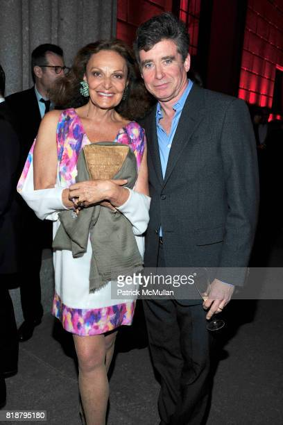 Diane von Furstenberg and Jay McInerney attend VANITY FAIR TRIBECA FILM FESTIVAL Opening Night Dinner Hosted by ROBERT DE NIRO GRAYDON CARTER and...