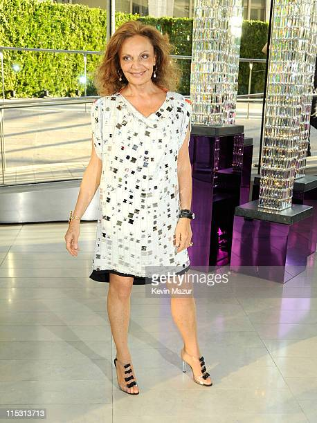 Diane Von Furstenberg attends the 2011 CFDA Fashion Awards at Alice Tully Hall, Lincoln Center on June 6, 2011 in New York City.