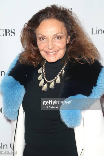 Diane Von Furstenberg attends the 2017 American Songbook Gala at Alice Tully Hall on February 1 2017 in New York City