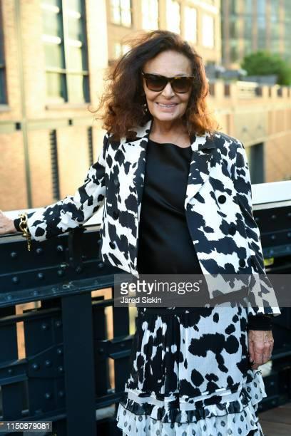 Diane von Furstenberg attends the 2019 High Line Spring Benefit on May 21 2019 in New York City
