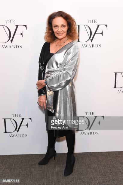 Diane von Furstenberg attends The 8th Annual DVF Awards at United Nations on April 6 2017 in New York City