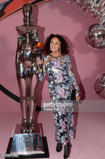 Diane von Furstenberg attends the CFDA Fashion Awards on June 03, 2019 in New York City.