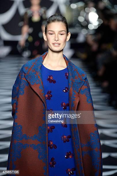 Diane von Furstenberg Autumn Winter 2014 fashion show during New York Fashion Week on February 9 2014 in New York United States