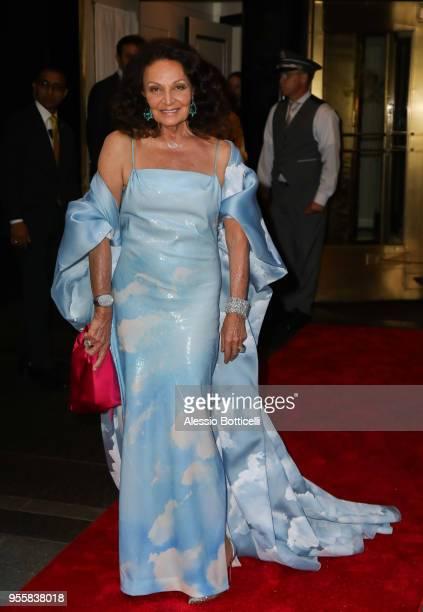 Diane von Furstenberg is seen on May 7 2018 in New York City