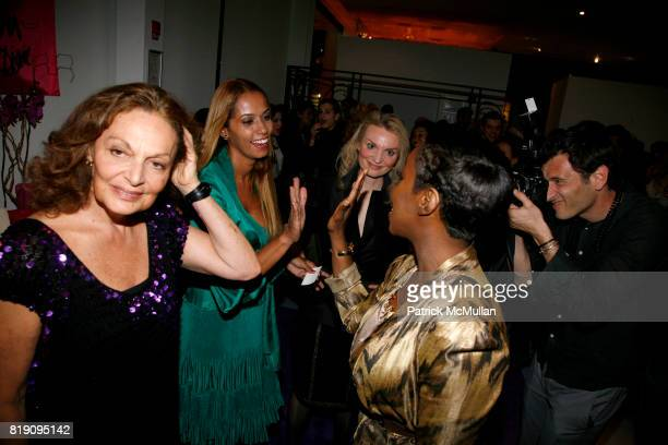 Diane von Furstenberg Panmela CastroAnarkia Alyse Nelson and Estelle attend DIANE von FURSTENBERG celebrates INTERNATIONAL WOMEN'S DAY with 'PROUD TO...