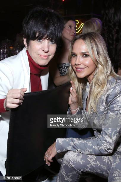Diane Warren and Arielle Kebbel attend Michael Muller's HEAVEN presented by The Art of Elysium on January 5 2019 in Los Angeles California