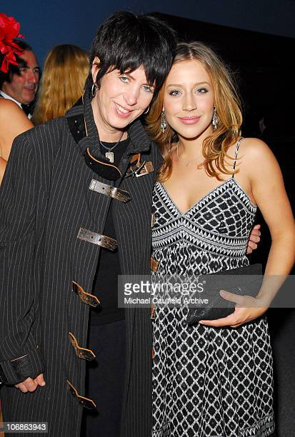 Diane Warren and Jessi Collins during 14th Annual Elton John AIDS Foundation Oscar Party Cohosted by Audi Chopard and VH1 Inside at Pacific Design...
