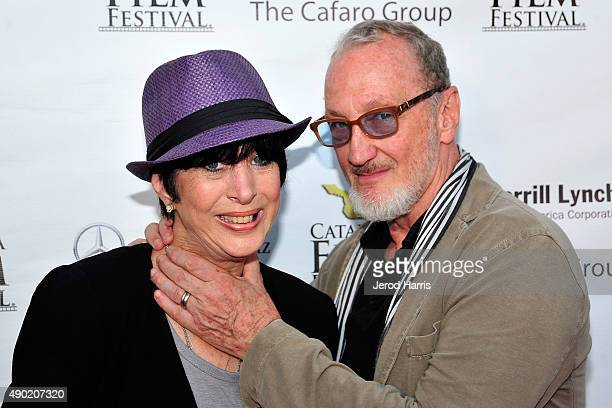 Diane Warren and Robert Englund attend the Catalina Film Festival on September 26 2015 in Avalon California