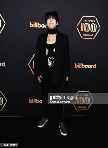 Diane Warren arrives at the 2019 Billboard Power 100 event at Avra Beverly Hills Estiatorio on February 07 2019 in Beverly Hills California