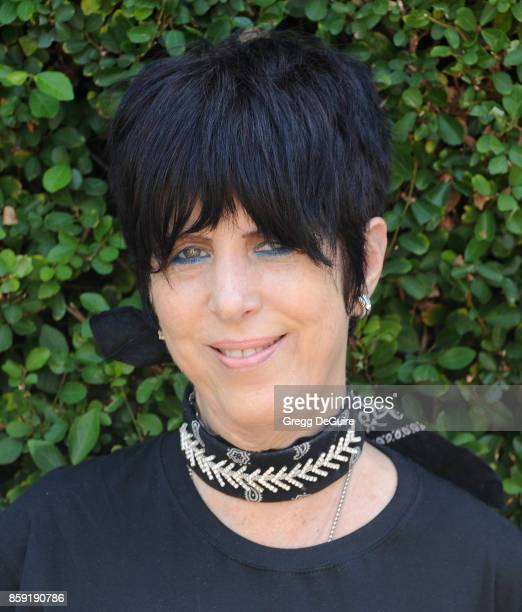 Diane Warren arrives at The Rape Foundation's Annual Brunch at a private residence on October 8 2017 in Los Angeles California